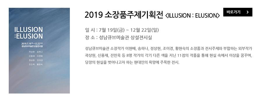 2019 소장품주제기획전 ILLUSION:ELUSION